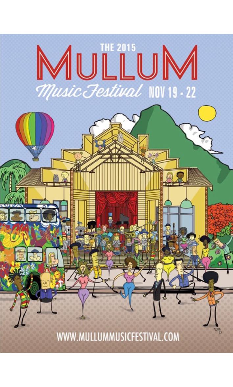 Mullum Music Fest - Lineup 2015